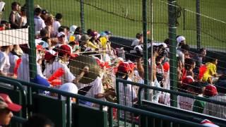 2013 夏の甲子園 日大山形の応援 ドラクエ3