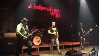 Video The Unbroken Will - Jako lev live in S klub Olomouc 13.9.2019