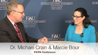 FICPA Conference Interviews - Marcie Bour, CPA/ABV, CVA, CFE, MAFF, ABAR