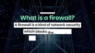 Firewall Network Security Dubai -a step beyond Anti-Virus