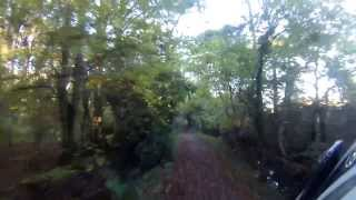 preview picture of video 'Arborfield Garrison - Hogwood Lane (Byway. E-W)'