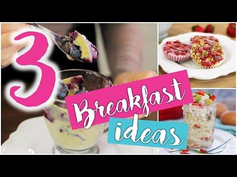 Video 3 CHEAP, EASY & HEALTHY make-ahead breakfast ideas!