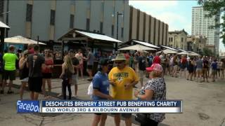 Deschutes Brewery Street Pub benefits charity
