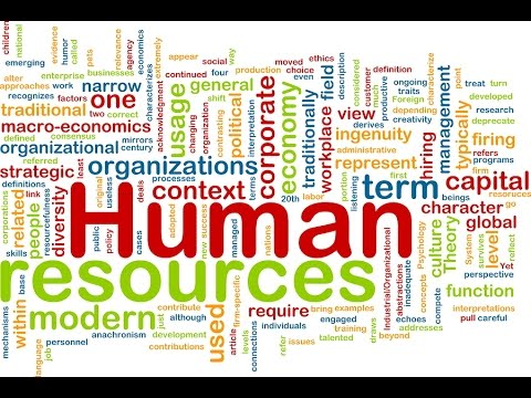 HR Management (1) | Business English Vocabulary