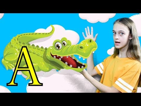 ABC Song Learn English Alphabet for Children with Elya and Nursery Rhyme by Fun With Elya TV