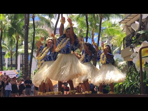 HULA PERFORMANCE | PAN-PACIFIC FESTIVAL | ROYAL HAWAIIAN CENTER