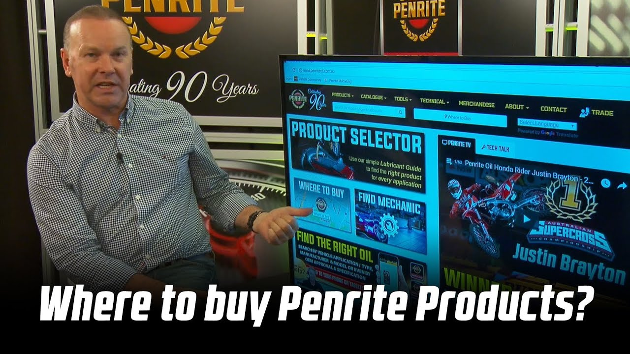 Where to buy Penrite Products?