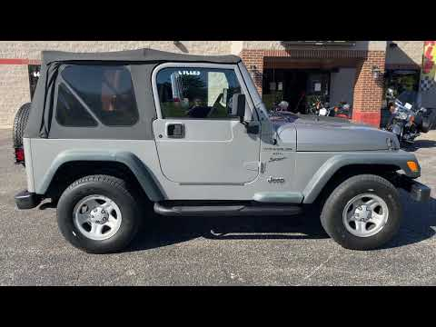 2000 Jeep® Wrangler in Big Bend, Wisconsin - Video 1