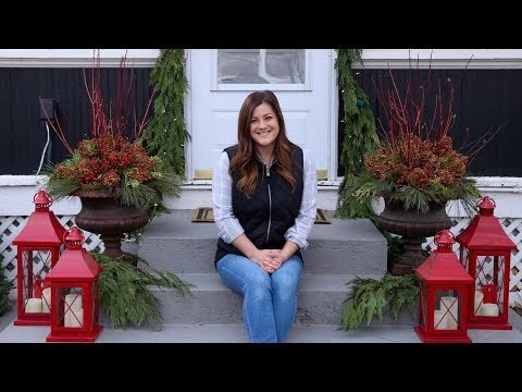 Decorating Our Back Porch! ❤️🎄// Garden Answer