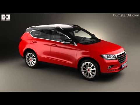 Great Wall Haval H2 2014 by 3D model store Humster3D.com