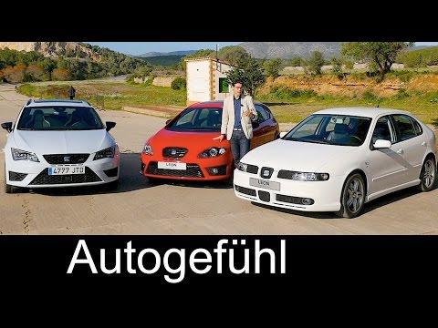 Seat Leon (Cupra) Generations I vs II vs III comparison REVIEW Vergleich & 3D Production insight