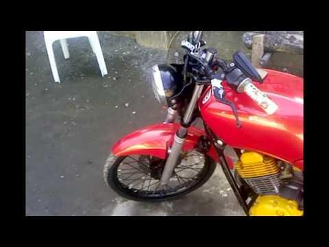 Yamaha STX 125cc Modified