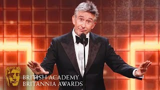 Steve Coogan's Hilarious Acceptance Speech | 2019 British Academy Britannia Awards