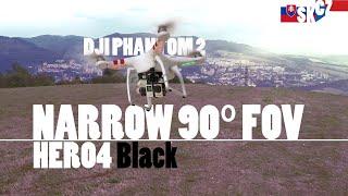 Field of view NARROW | GoPro HERO4 BLACK + DJI Phantom 2 | 2015