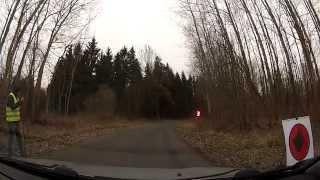 preview picture of video 'Milano Rally Sprint - Orneta - 2015.03.29 - 3 przejazd, historyczny ;-)'