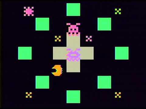 Epoch Cassette Vision - #6 Pakpak Monster - 1982 (GamePlay)