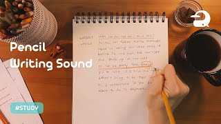 ASMR Writing Sound for Studying / Pencil Sound  #081
