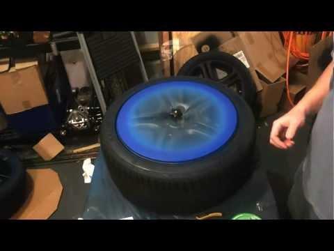 Plastidip - colored lip on wheel (alternative method)