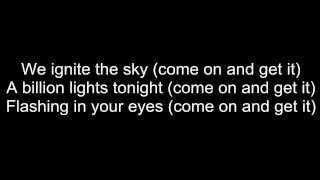 JLS - Billion Lights - Lyrics