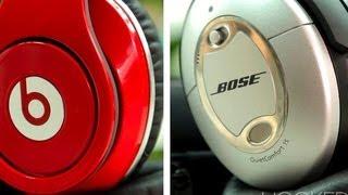 CNET's Hooked Up - Beats by Dre Studio vs. Bose Quiet Comfort 15