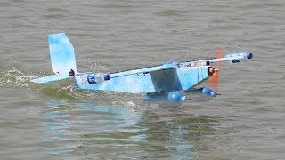 How to make a airplane - This airplane can Land In Runway And Water