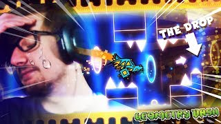 WHEN YOU DIE JUST BEFORE THE DROP. || Geometry Dash (Part 28)