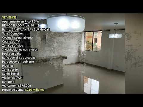 Apartamentos, Venta, Santa Anita - $260.000.000