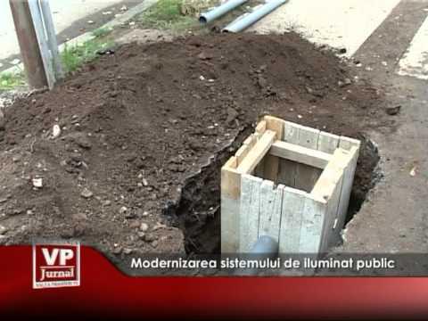 Modernizarea sistemului de iluminat public