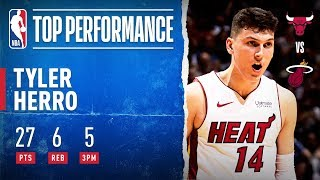 Tyler Herro WENT OFF In OT Thriller!