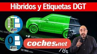 Coches Híbridos y Etiquetas ECO / Cero DGT | ¿Qué tipos de híbridos existen? | coches.net