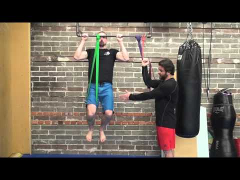 Resistance Band Assisted Pullups