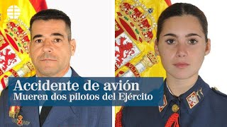 Accidente de avión en San Javier: un instructor de la Academia General del Aire y su alumna mueren