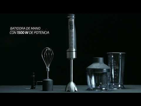 Batidora PowerGear Pro 1500 con accesorios, Cecotec