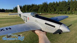 H-King Galloping Ghost P-51 Mustang Reno Racer RC Plane Maiden Flight