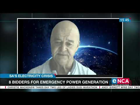 Discussion 8 bidders of emergency power generation