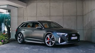 YouTube Video ZHpTzvq1U5I for Product Audi RS6 Avant (C8 Type 5G) by Company Audi in Industry Cars