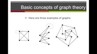 Basic Concepts in Graph Theory