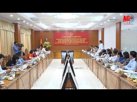 Ủy Ban Thường vụ Quốc hội giám sát việc thực hiện chính sách pháp luật về giảm nghèo bền vững