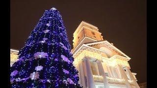Праздничную иллюминацию зажгли в Минске