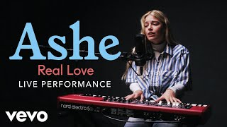 "Ashe   Ashe   ""Real Love"" Live Performance 