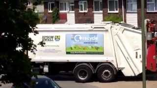 preview picture of video 'Epsom and @Ewell borough council green bins'