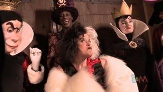 Disney Villains Up Close - Maleficent, Dr Facilier, Cruella, Queen Of Hearts, Captain Hook