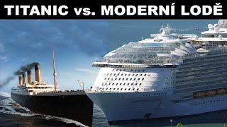 Trendy video Trendy - Titanic vs moderné zaoceánske lode