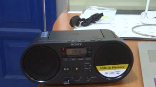 UNBOXING SONY AUDIO SYSTEM ZS-PS50