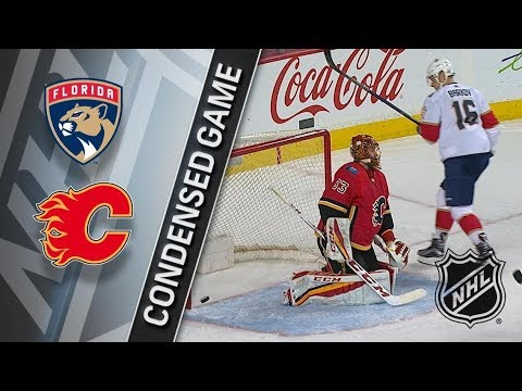Florida Panthers vs Calgary Flames – Feb. 17, 2018 | Game Highlights | NHL 2017/18. Обзор