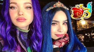 DESCENDANTS 3 🍎 EVIE BACKSTORY! 🍎 D3 Deets News ft MAL
