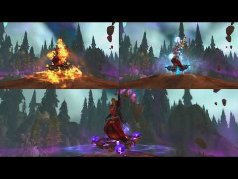 The Story of Archmage's Prismatic Disc - Patch 7.2 Mage Class Mount