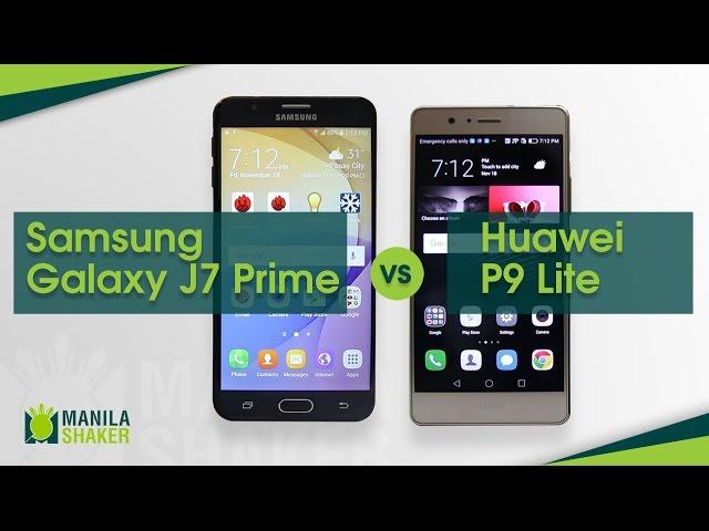 Huawei P9 Lite Vs Samsung Galaxy J7 Prime