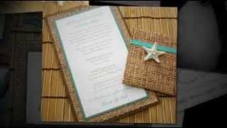 Beach Themed Destination Wedding Invitations