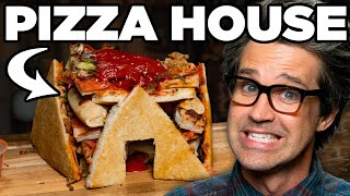 Making A Pizza Hut Out Of Pizza Hut Pizza